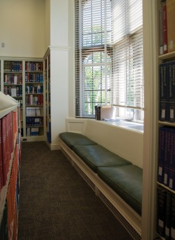 The Chemistry library in Louderman Hall
