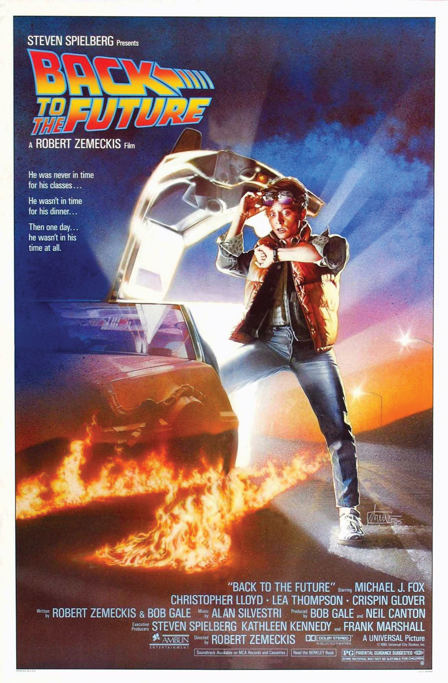 Back to the Future Movie Image