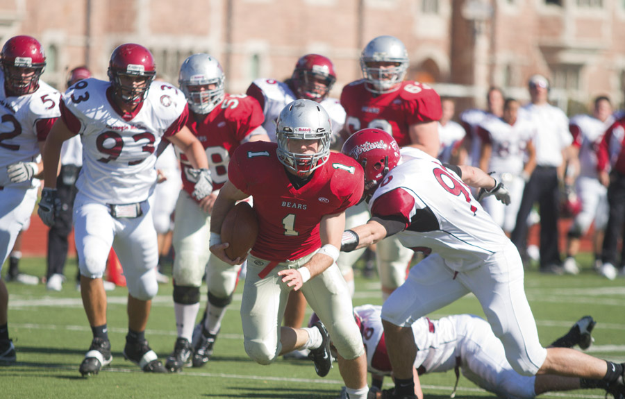 Football wins UAA opener against CMU in overtime   Student ...