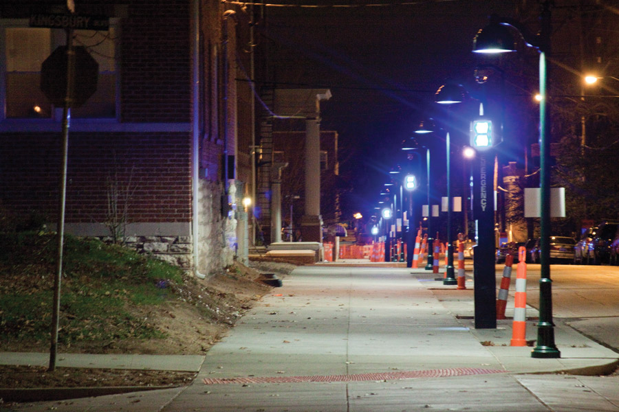 More Blue Lights Placed On Melville Student Life