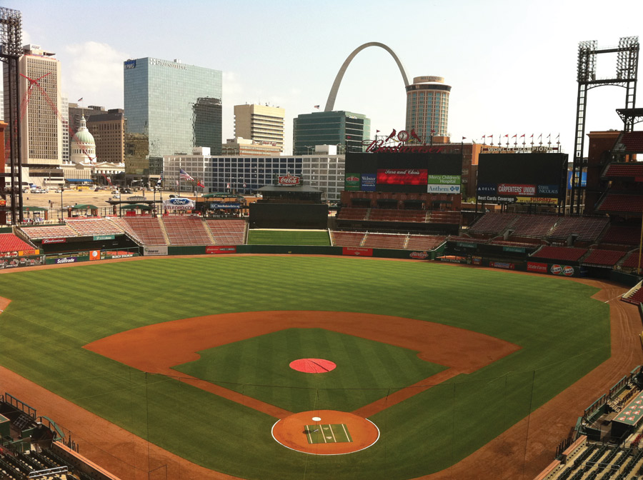 Visitors Who Pay For A Tour Of Busch Stadium Can Enter The Radio Broadcast Room
