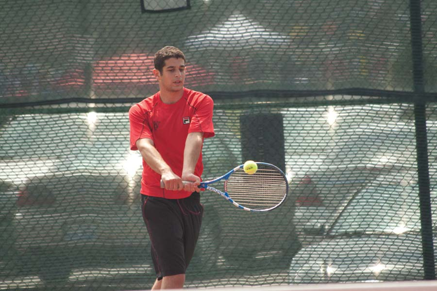 Men's tennis wins twice at UAAs, finishes second | Student ...