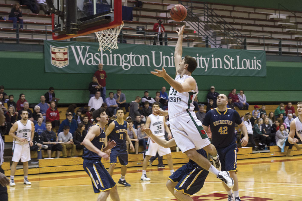 Men's basketball knocks off fourth-ranked Rochester ...