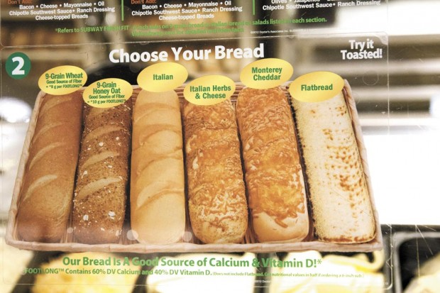 A Review Of Subway S Bread Selection Student Life